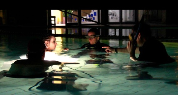 Cinematography workshops underwater afilm