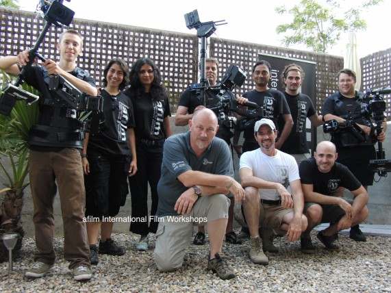 Steadicam Barcelona workshop