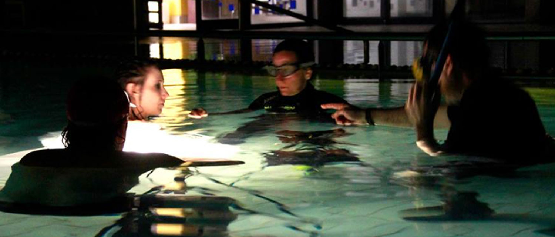 afilm underwater set