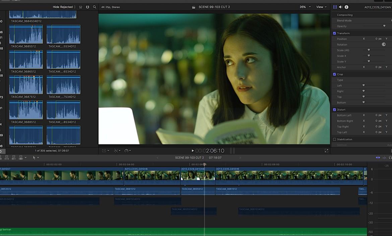 editing postproduction